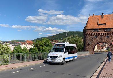 Verkehr der Regionalbusse